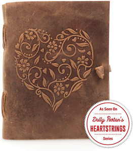 Genuine Leather Journal For Women Beautiful Handmade Leather Bound Notebook