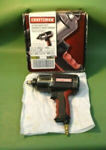 Craftsman 19984 1 2 Heavy Duty Composite Impact Wrench W Original Box D3