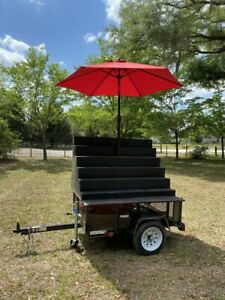 2019 3 5 X 5 Street Food Market Produce Vending Cart For Sale In Florida