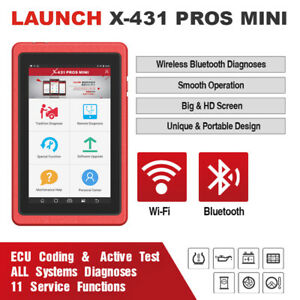 Launch X431 Pros Mini Bidirectional Active Test Full Systems Diagnostic Scanner