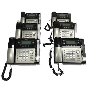 Lot Of 6 Rca Visys 4 line Business Office Desk Phone Model 25423re1