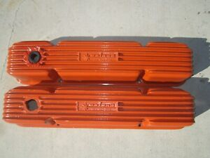 Early Weiand Valve Covers 4 Bolt Mopar 413 426 Chrysler Say Why And