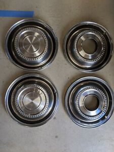Vintage International Scout Hubcaps Center Caps Wheel Covers Stock Wheels 80 800