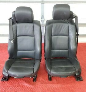 Bmw E93 328 335 M3 Convertible Front Right Left Sport Seat Chair Set Oem