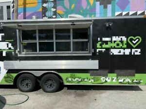 2017 32 Food Concession Catering Trailer With Professional Kitchen For Sale