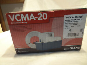 Lttle Giant Vcma 20ulst Condensate Pump 115v With Safety Switch open