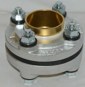 Watts Dielectric Flanged Fitting Iron Pipe Thread Copper Solder Connection 08217