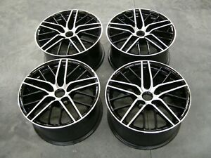 Nos Slp 2009 2013 Corvette Wheels Set 18x9 5 2010 2011 2012 Chevrolet Via Brand