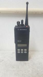 Motorola Mts2000 H01ucf6pw1bn Walkie Talkie 2 Way Radio 6 Button Keypad