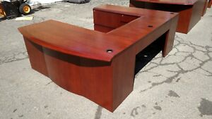 Desk U shaped 3 Piece Wood 3 Creative Wood Products We Deliver Locally Nor Ca