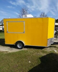 Spacious 2020 7 X 14 New Street Food Concession Trailer For Sale In Georgia