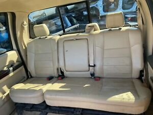 2010 Ford F250 F350 Super Duty Leather Rear Bench Seats Tan In Color