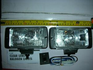 Vintage Style Fog Lights Off Road Jeep Dodge Ford Fog driving Lights Universal