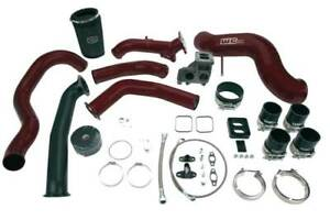 Wc Fab S400 Single Turbo Install Kit For 04 5 05 Duramax Lly Fluorescent Pin