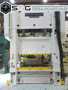 200 Ton Brown Boggs Ss2 200 72 48 Straight Side Press