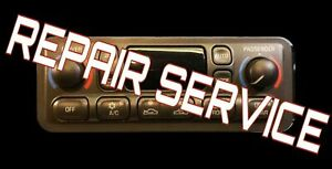 1998 To 2005 Chevy Corvette A c Heater Climate Control repair Service C5