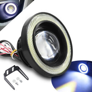 89mm Led Car Fog Driving Lamp White Daytime Running Light Motorcycle Headlight