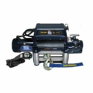 Superwinch 1695210 Winch Electric 12v 9500 Lb Roller Fairlead 85 Ft Line Length
