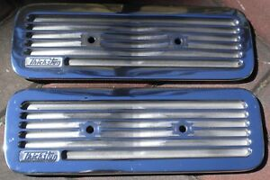 Polished Thickstun Aluminum Side Covers Dodge Plymouth Flathead 6 Hot Rod Mopar