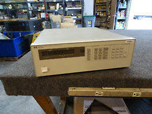 Hp Keysight 6626a Quad Output Dc Power Supply 0 50vx4 From Calibration Lab