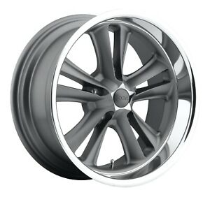 Cpp Foose F099 Knuckle Wheels 18x8 18x9 5 Fits Ford Mustang Falcon Galaxie