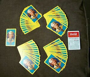 Vintage Coca Cola Deck of World War 2 Playing Cards