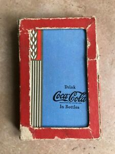 1938 or 1939 Coca Cola Playing Cards Complete with 1 Joker