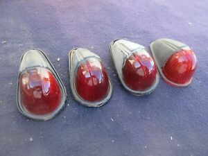 Cats Eye Cab Mount Marker Light Glass Lens Vintage Lamp Ford Dodge Chevy Truck