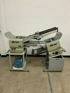 Ofm Turbo Folding Machine With Right Angle