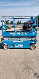 Genie Gs 2032 20 Electric Scissor Lift Aerial Manlift Platform 24v