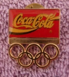 1992 Coca Cola Olympic Pins  New Ships Fast!
