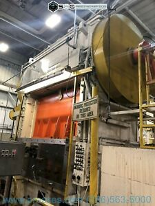 500 Ton Niagara Sc2 500 96 48p Straight Side Press Reconditioned With New Cont