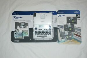 New White Brother P touch Label Maker Pt 2040sc Bundle