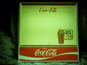 Classic Vintage Coca cola Lighted Menu Board Sign 3 sets Of Nos Letters numbers