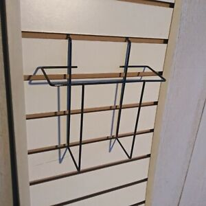 Retail Peg Board Slatwall Brochure Catalog Display Rack