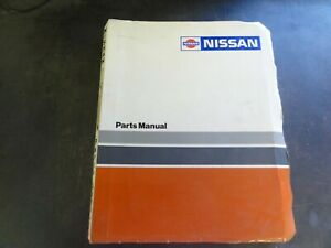 Nissan Rcosn 1 Forklift Parts Manual