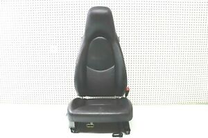 2006 06 Porsche Boxster S Seat Right Passenger Side Black W Rail Frame