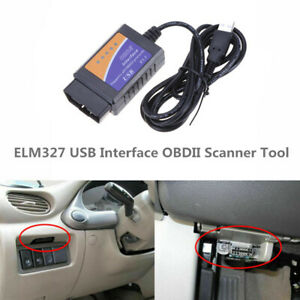 Elm327 Usb Interface Obdii Obd2 Diagnostic Auto Car Scanner Scan Tool Cable 2020
