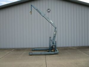 Ruger Industries Hp 3 Power Crane 6000 1100lbs Heavy Duty Shop Crane