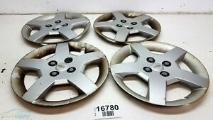 Oem 05 08 Chevrolet Cobalt Cpe Fr Fl Rl Rr Wheel Rim Center Hub Cap Set Of 4