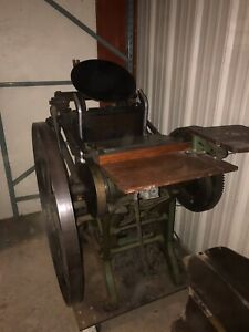 Antique Letterpress Printing Press Paper Cutter 1885 chandler And Price