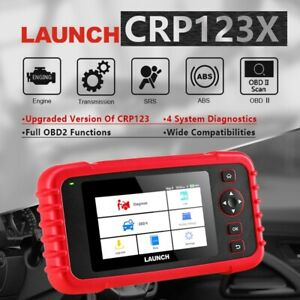Launch Creader Crp123 X Engine Transmission Abs Srs Code Reader Diagnostic Tool