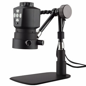 20x 100x 3 5mp Hdmi Digital Microscope With 11 Articulating Arm