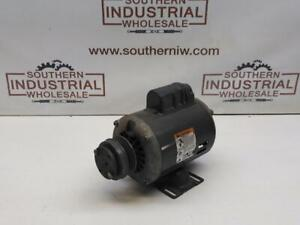 Dayton 6xj19 115 230v 3450rpm 3 4hp Fr56 5 8 shaft Capasitor Start Motor