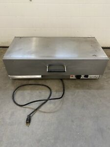 Roundup Antunes Wd 35a Hot Dog Bun Drawer Warmer 9400120 120 Volt Used 1400w