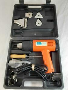 Crlaurence Ld121 Heat Gun With Accessories And Case