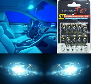 Canbus Error Led Light 168 Icy Blue 8000k Ten Bulb License Plate Replace Fit Oe