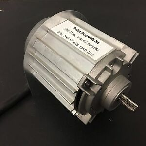 Trojan Replacement Motor For Sewer Snake Cleaning Machines