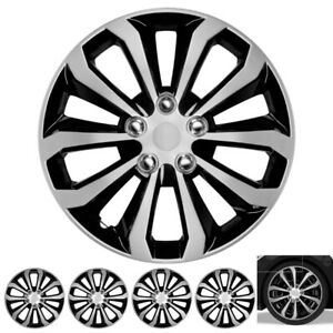 16 Inch Spyder Hub Cap Covers For Toyota Camry Wheel Skin Cover 4 Piece Set