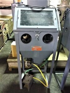 Trinco Model 24 Sand Blast Cabinet With Collector 2 Available